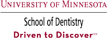 University of Minnesota School of Dentistry logo